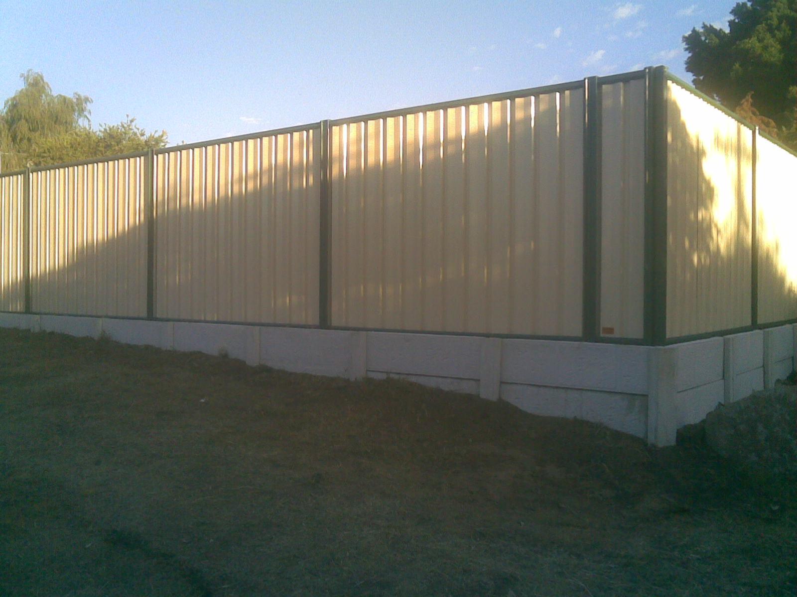 Retaining Walls Harrisdale Fencing Colorbond